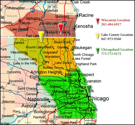 Nevernest Pest Control Environmentally Friendly Pest Management - Chicago map location